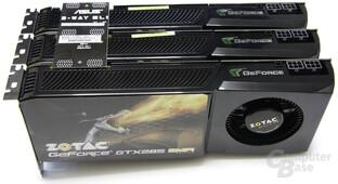 3-Way-SLI mit GTX 285
