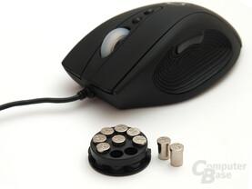 Zusatzgewichte für die 142-Gramm-Maus
