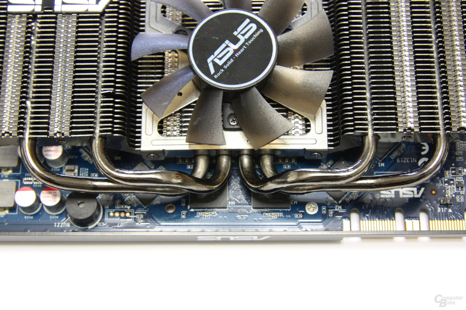 GeForce 9800 GTX+ Dark Knight TOP Heatpipes