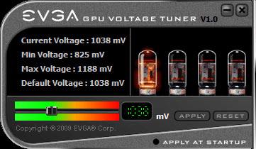 EVGA GPU Voltage Tuner