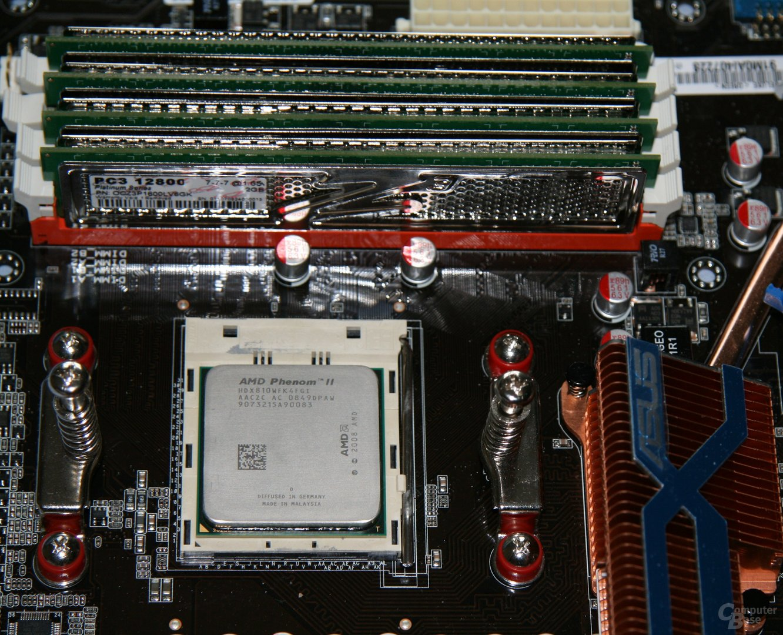 AMD Phenom II X4 810 mit 4x 2 GByte DDR3