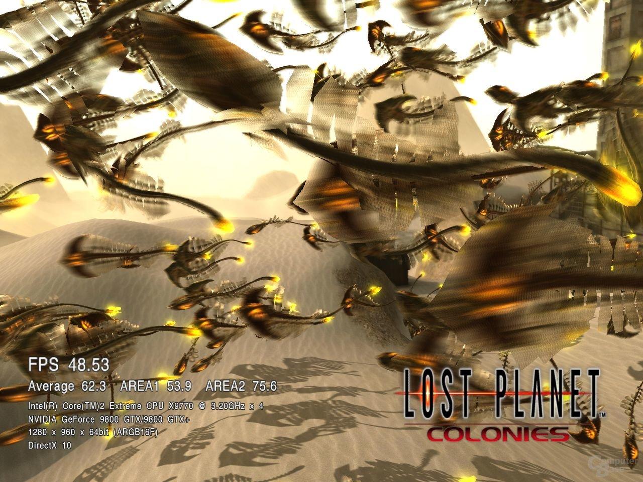 Lost Planet Colonies auf einem Q9550s