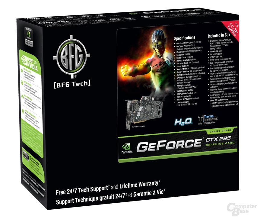 BFG GeForce GTX 295 H2O