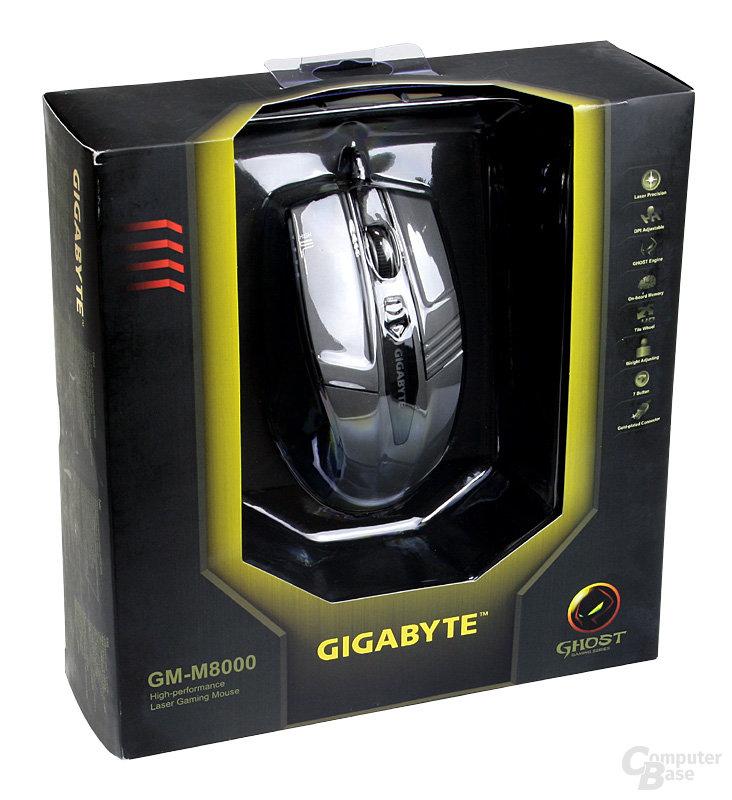 Gigabyte GM-M8000 Laser Gaming Mouse