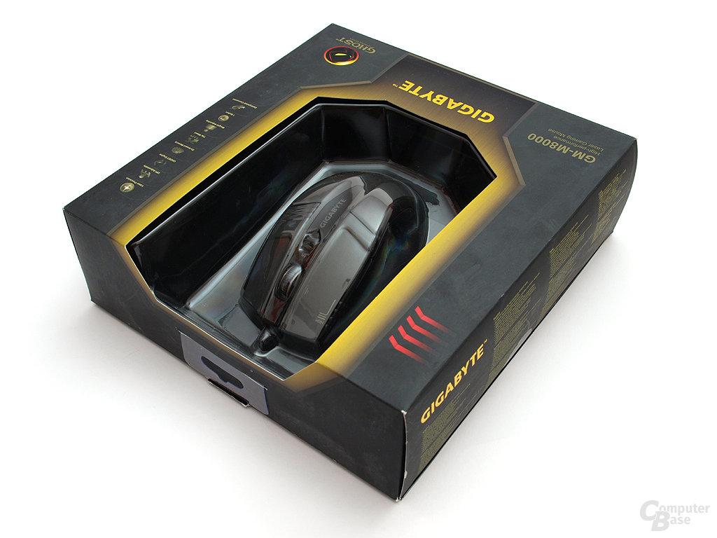 Gigabyte GM-M8000 Verpackung