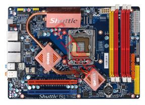Bild der verwendeten Hauptplatine im SX58H7