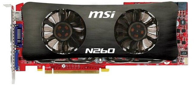 MSI N260GTX Lighting