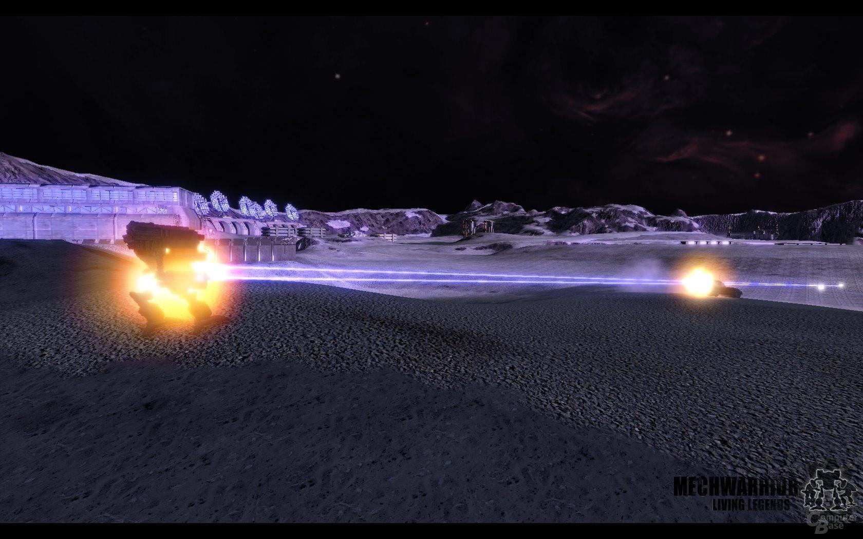 Kampfszene auf der Map Extremity (Solaris-Arena-Modus)