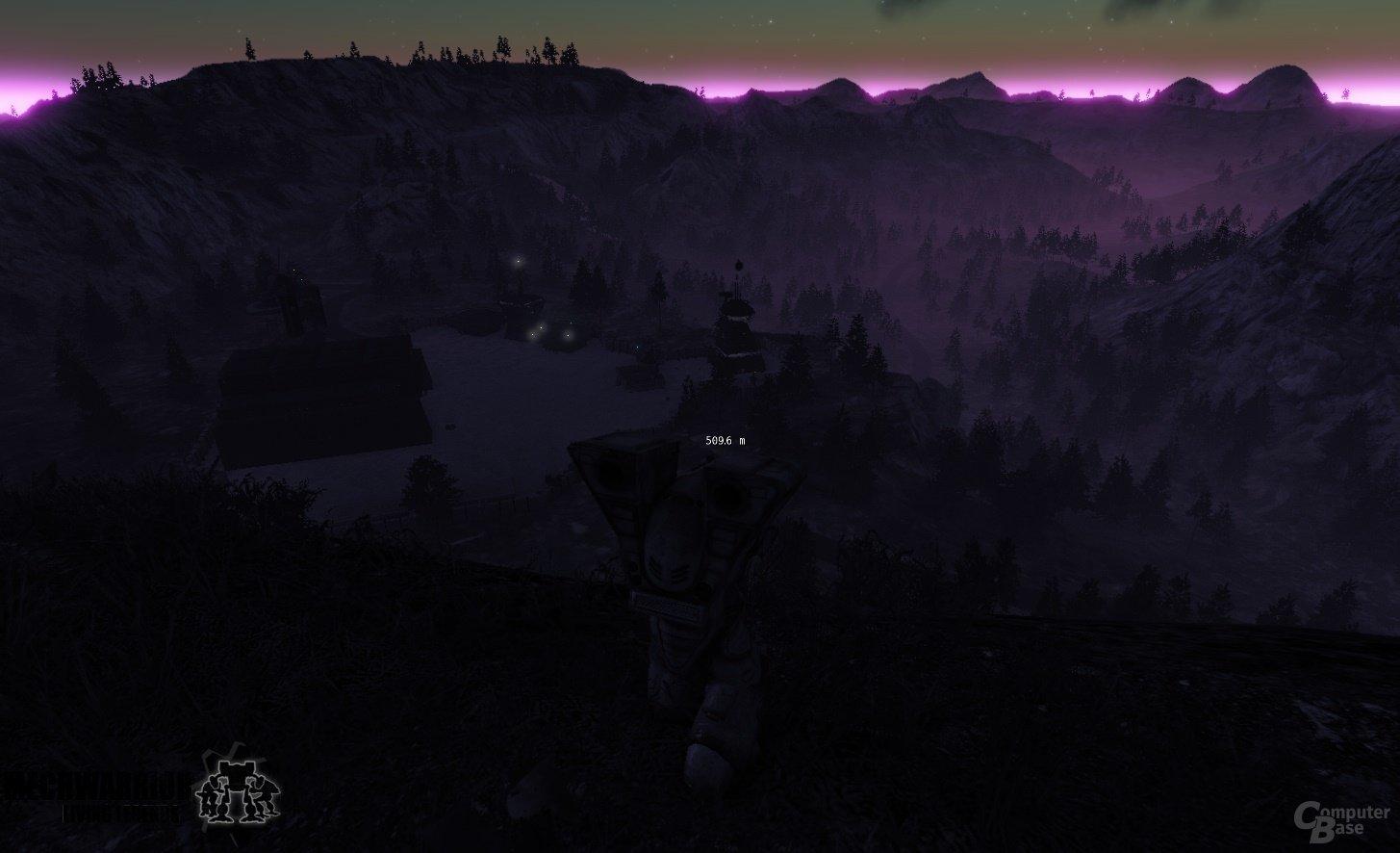 Tag-Nacht-Wechsel auf der Map ClearCut