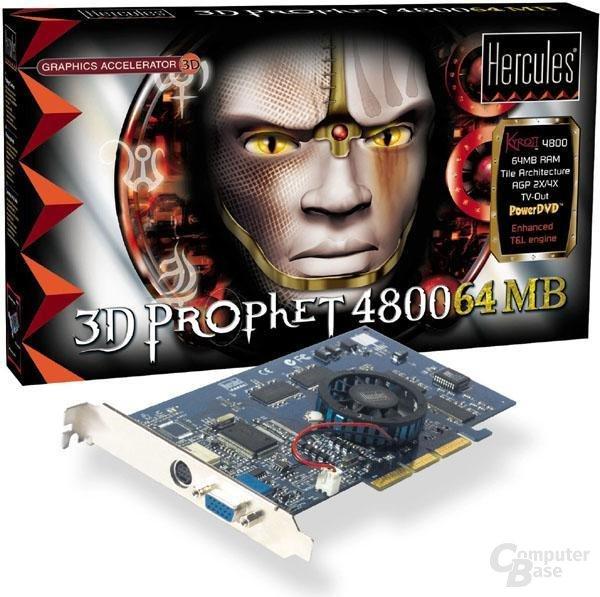 Hercules Prophet 4800 Verpackung