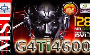 MSI G4Ti4600-VTD Verpackung