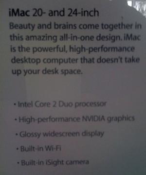 Indizien für einen iMac mit Nvidia-Grafik?