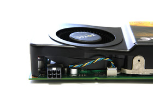 GeForce GTS 250 schräger Lüfter