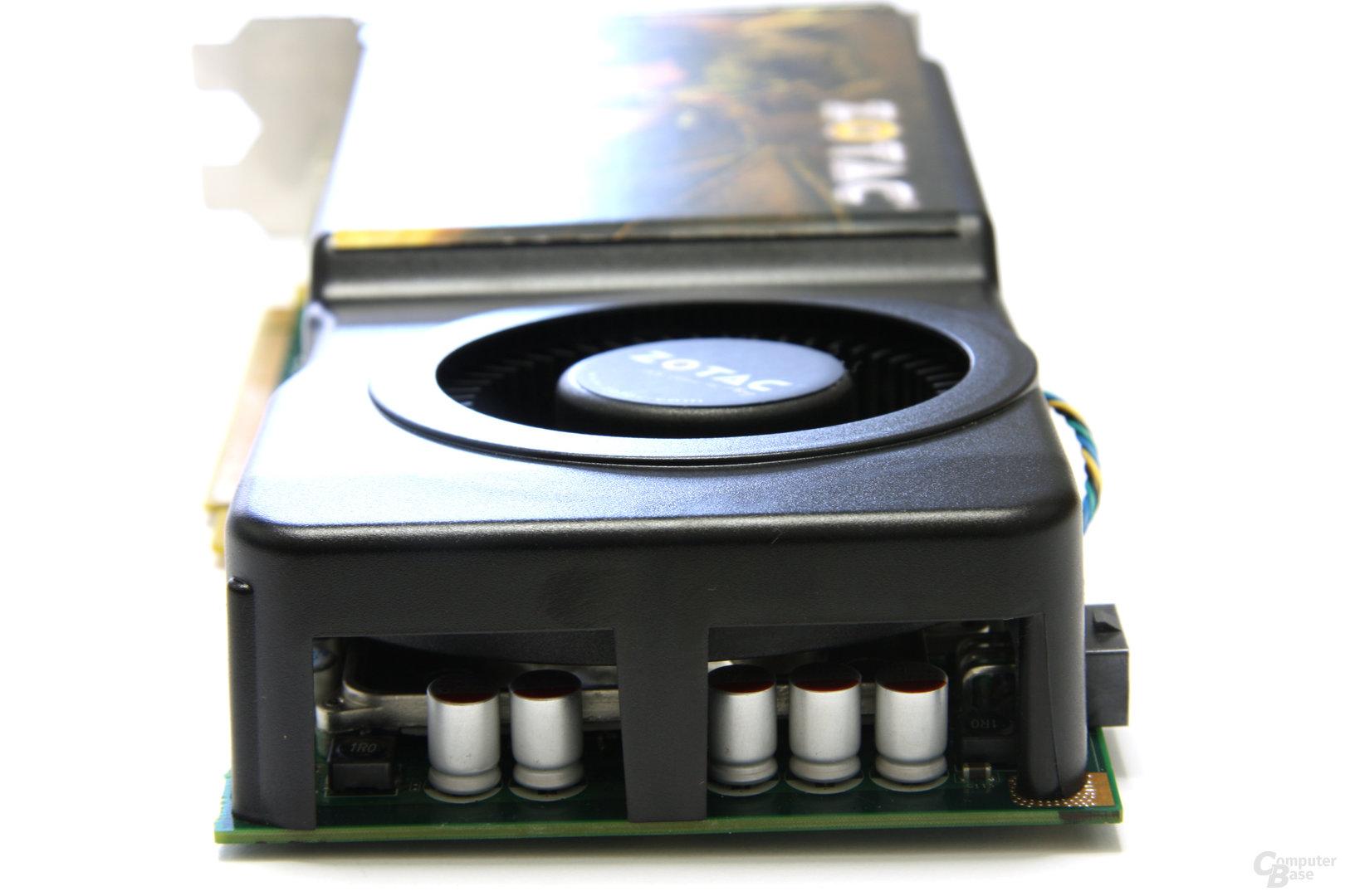 GeForce GTS 250 von hinten