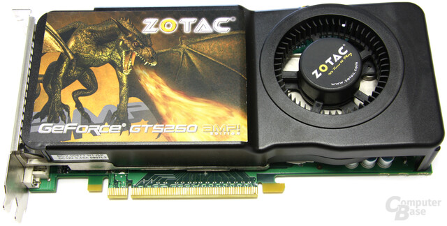 Zotac GeForce GTS 250 AMP!