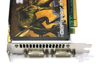 GeForce GTS 250 Anschlüsse