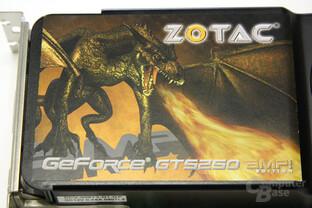 GeForce GTS 250 Aufkleber