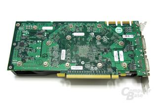 GeForce GTS 250 Rückseite