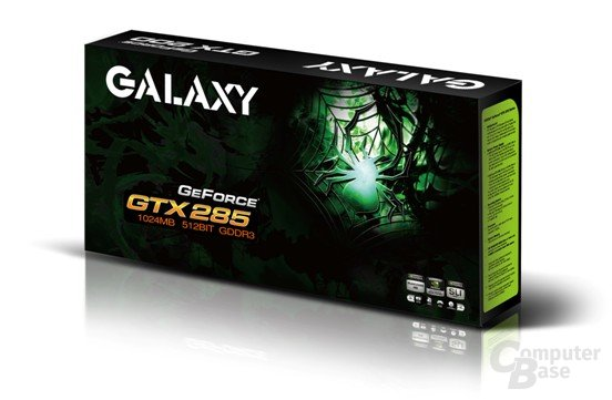 Galaxy GTX 285 fernab des Referenzdesigns