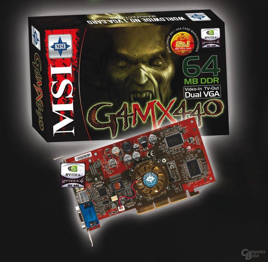 MSI GeForce4 MX440