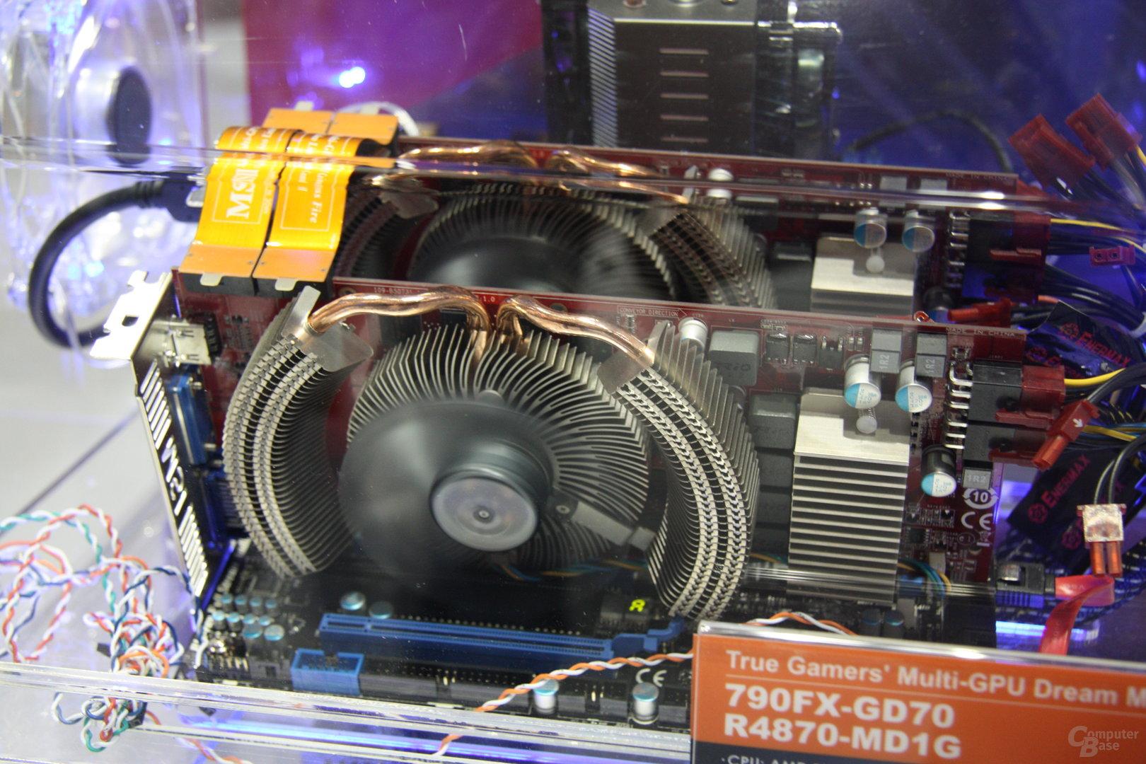 MSI auf der CeBIT 2009
