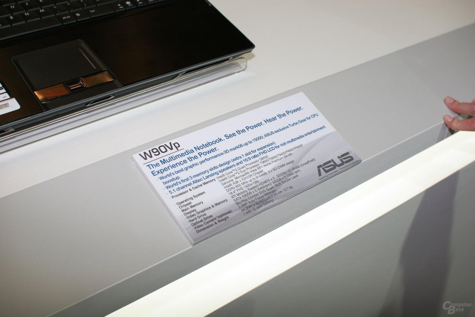 Asus W90Vp