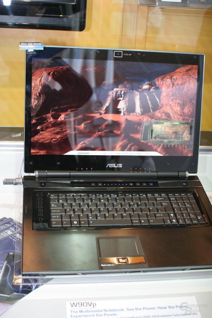 Asus W90Vp mit ATi Mobility Radeon 4870 X2