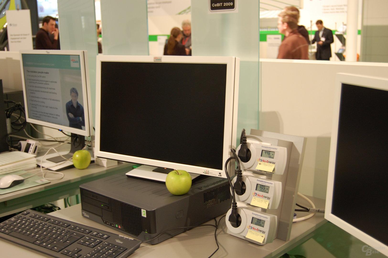 FSC 0-Watt-PC und -Monitor