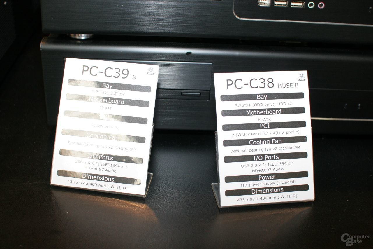 Lian Li PC-C38 und C39