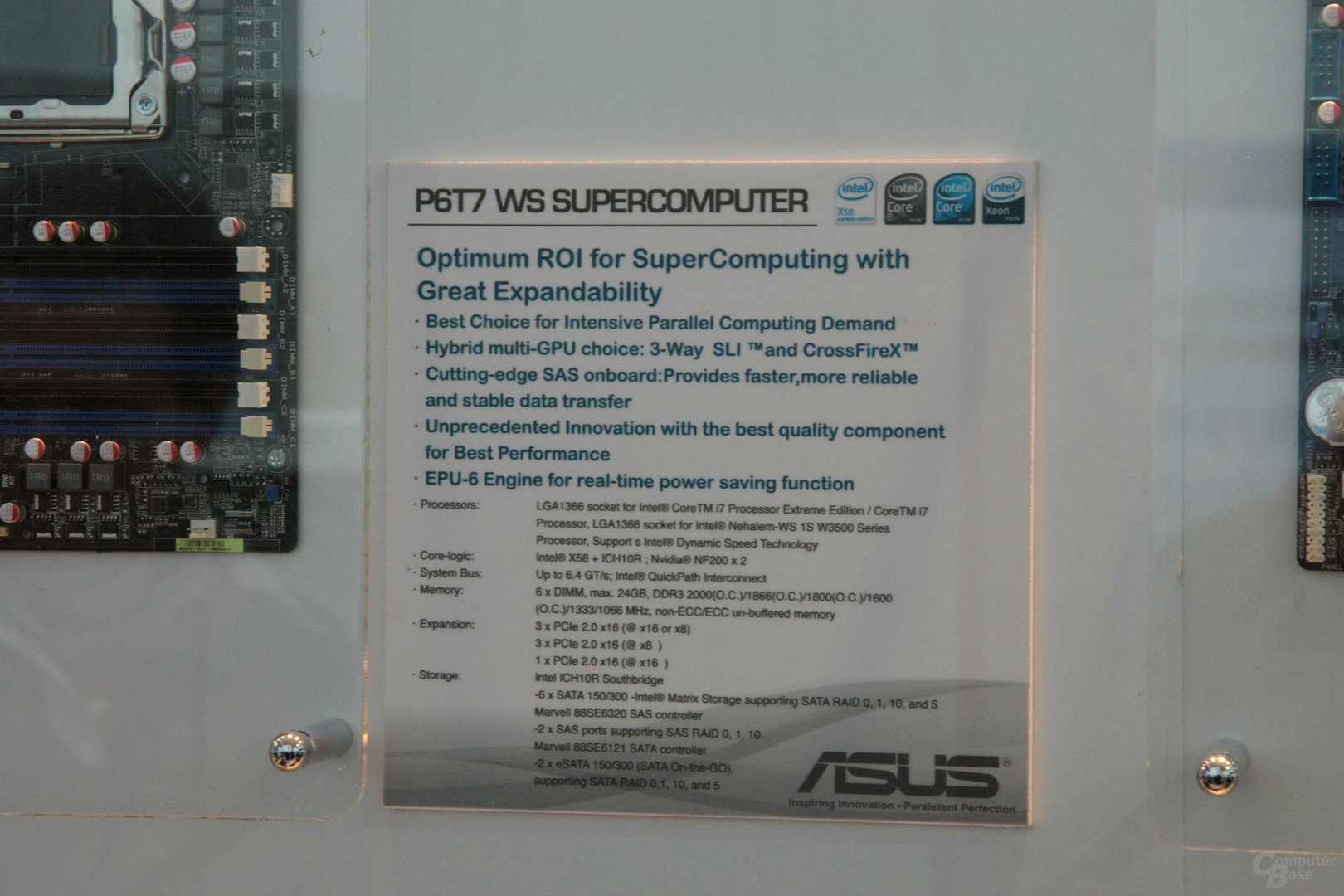 Asus P6T7 WS Supercomputer