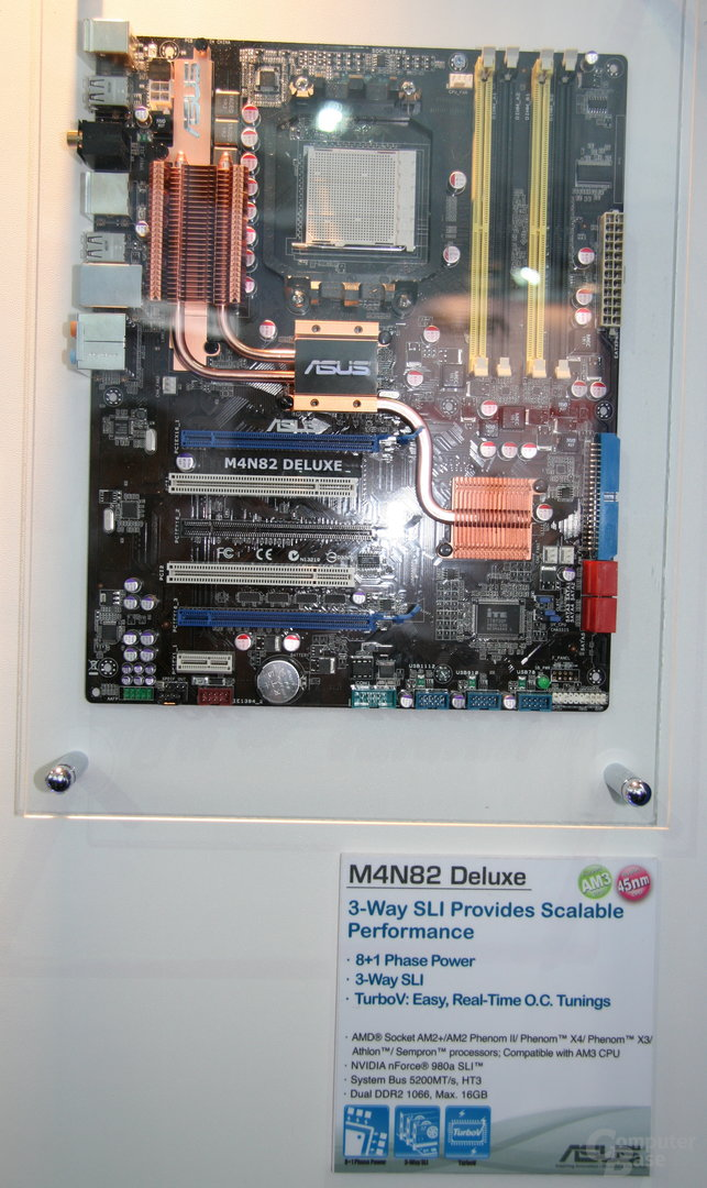 Asus M4N82 Deluxe