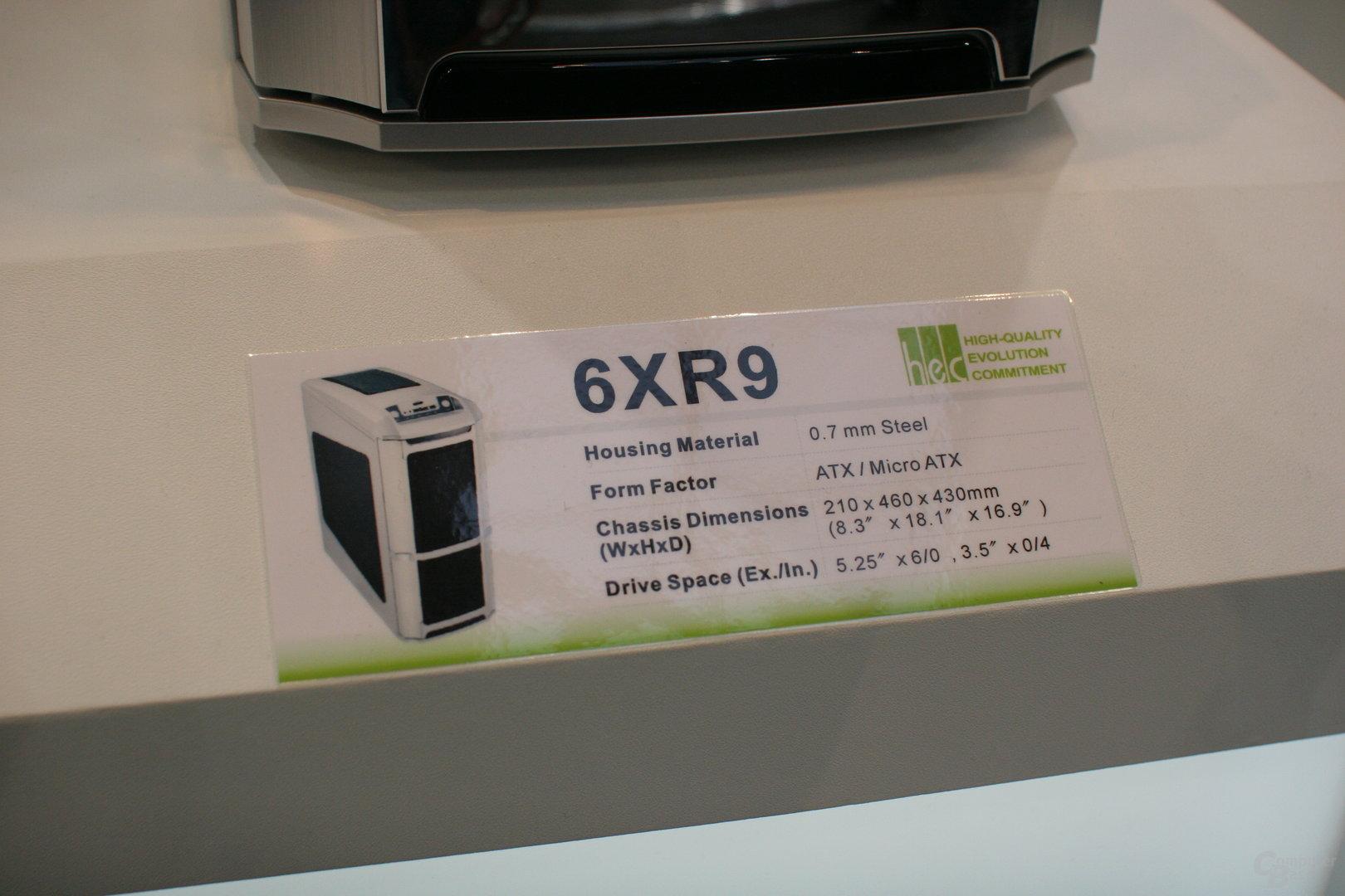 HEC Compucase 6XR9