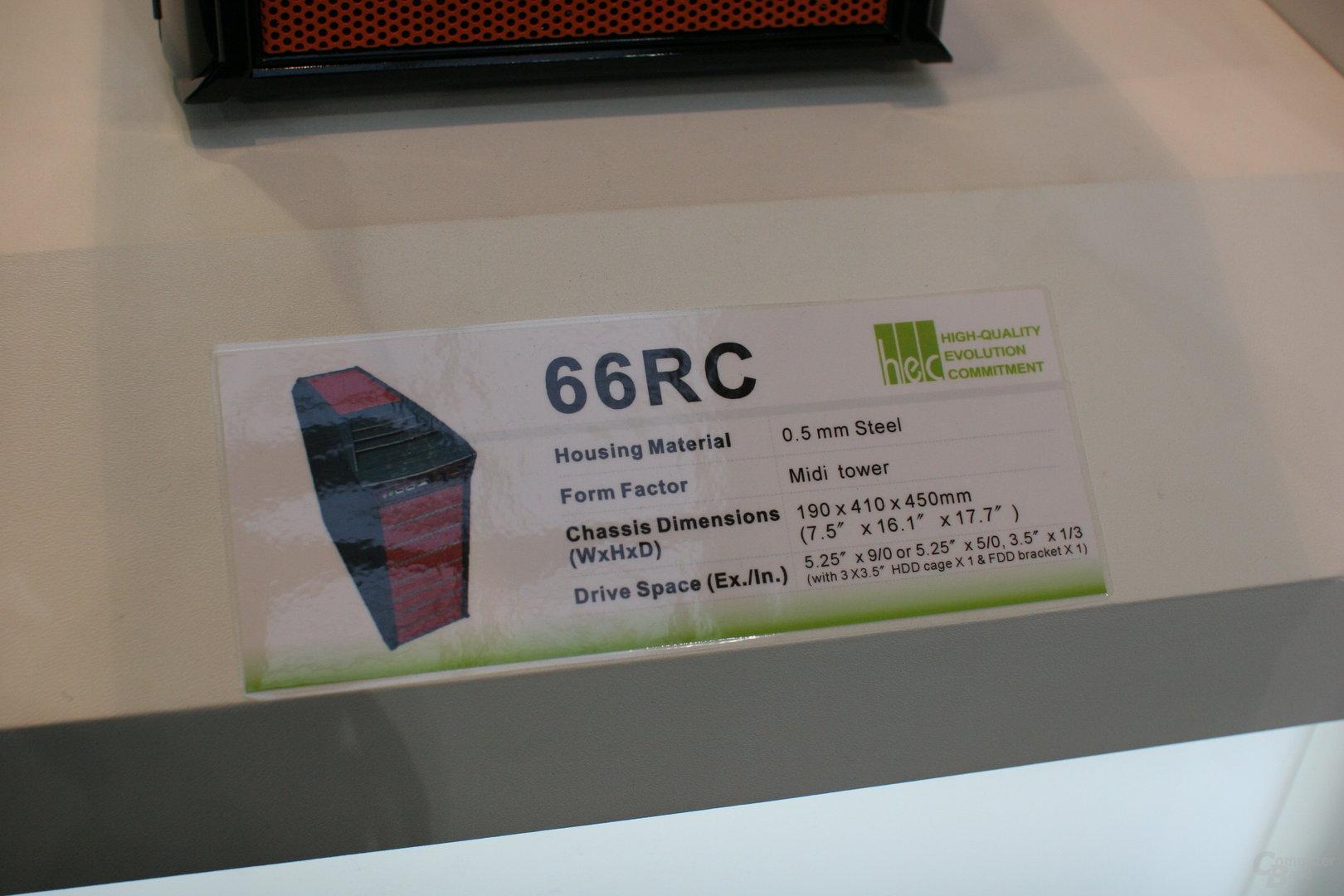 HEC Compucase 66RC