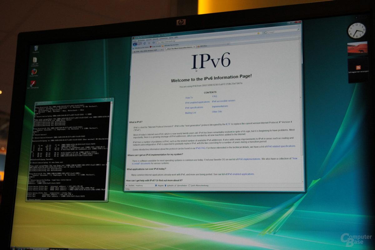 Verfügbare Laborfirmware: IPv6