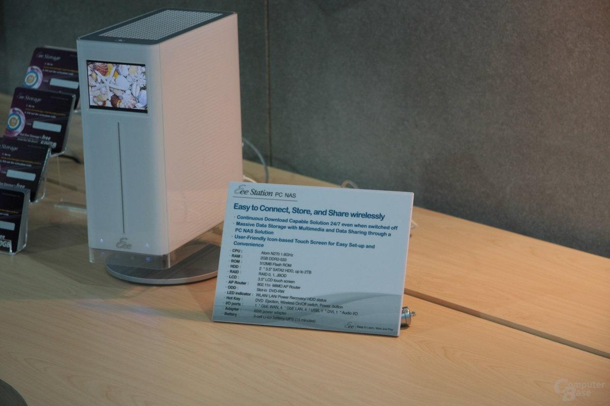 Asus Eee Station PC NAS