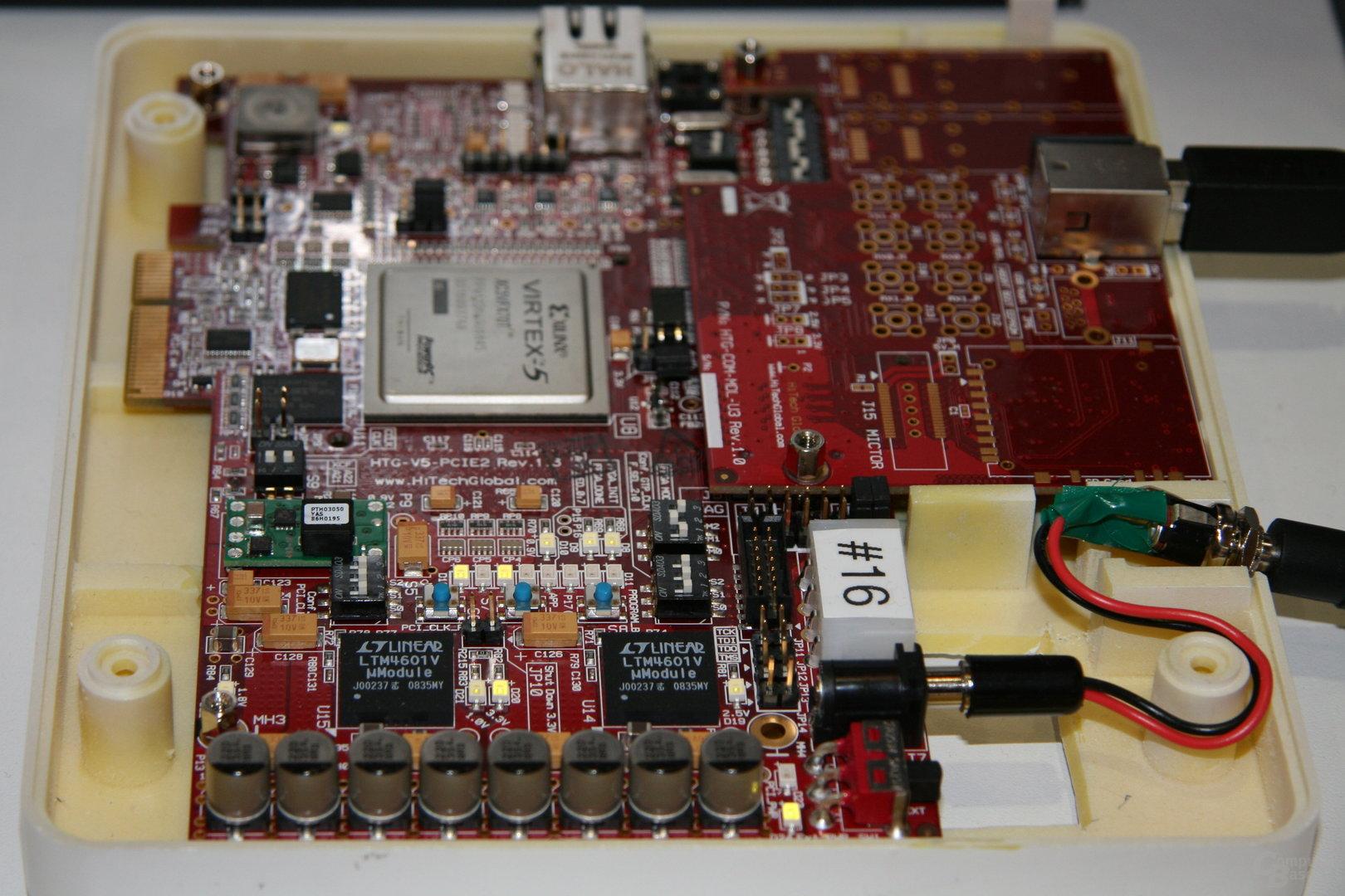 USB-3.0-System im Einsatz
