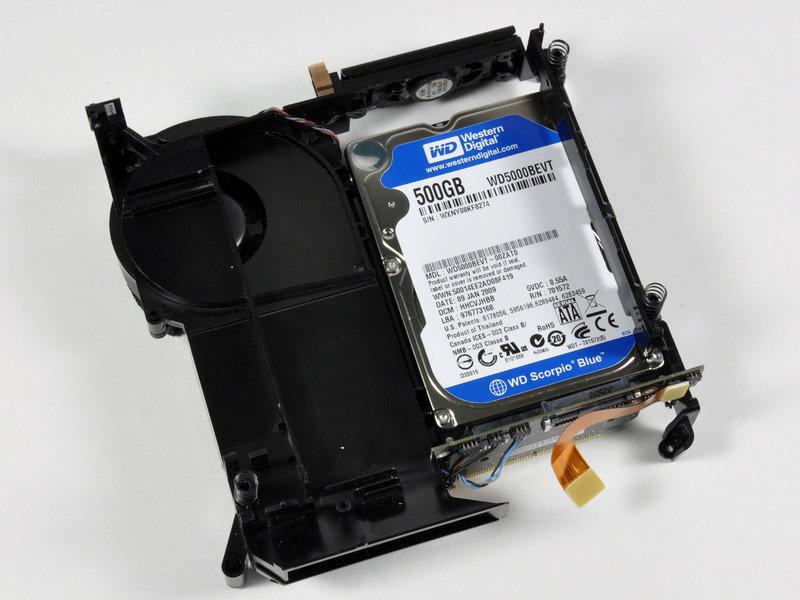 Mac-mini-Aufrüstung auf 1-TByte-Festplatte