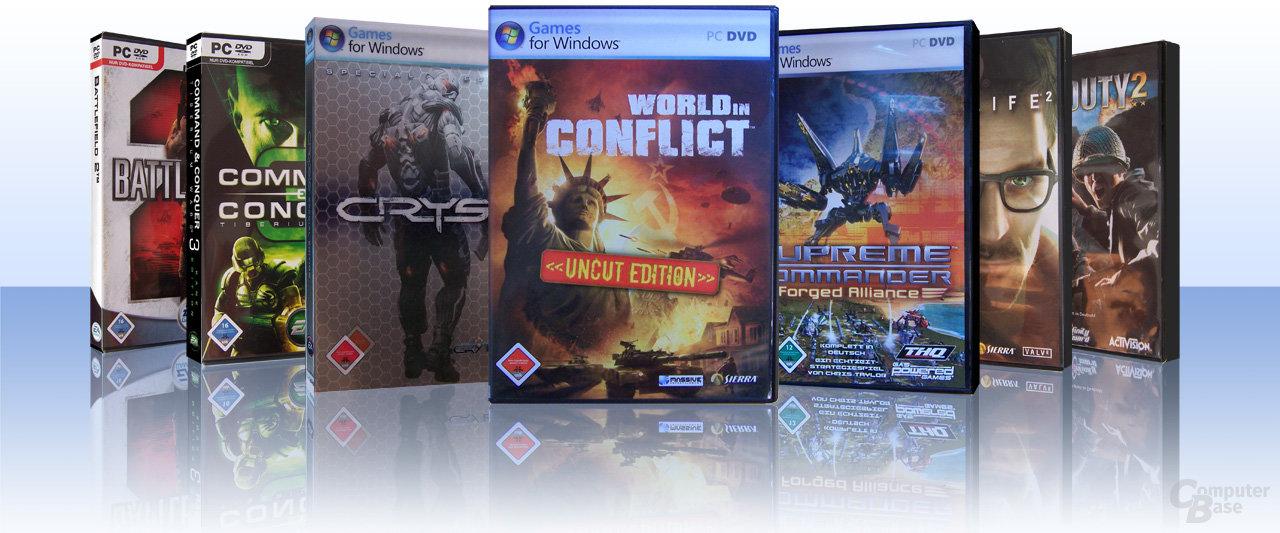 Spiele-DVDs