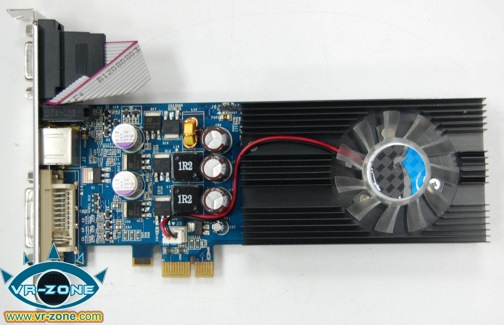 Elsa GeForce 9500 GT für PCIe x1