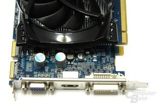 Radeon HD 4670 GDDR4 Anschlüsse