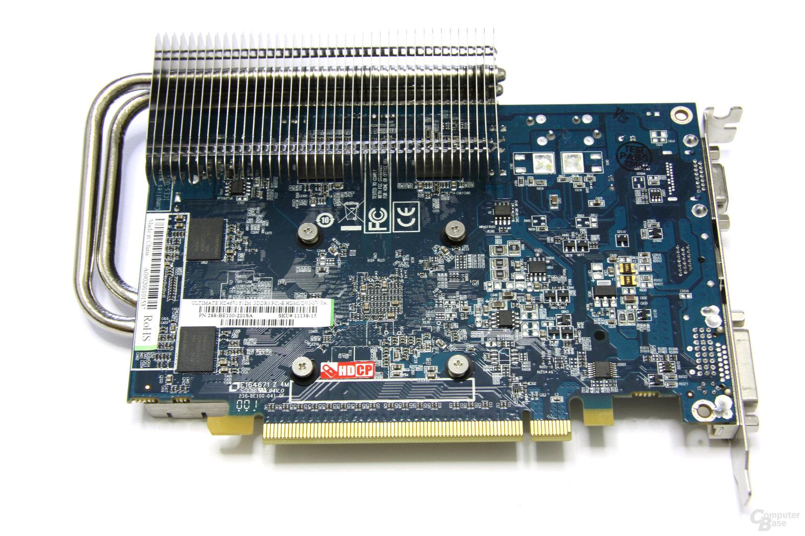 Radeon HD 4670 Ultimate Rückseite