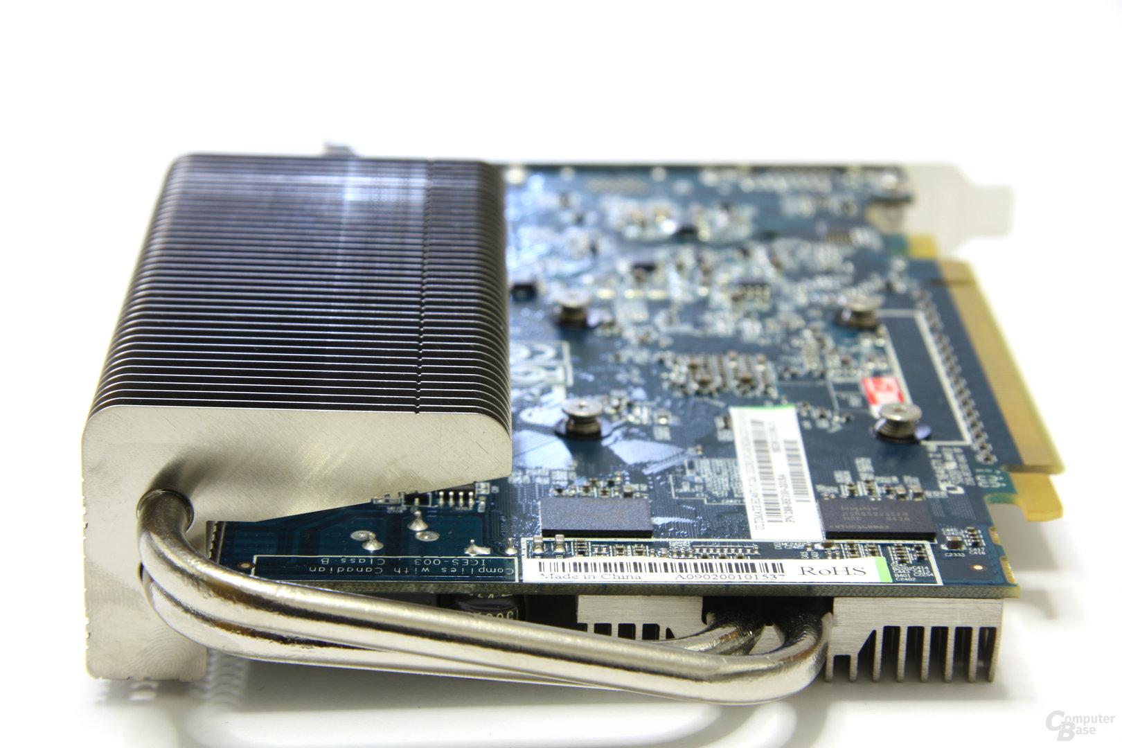 Radeon HD 4670 Ultimate von hinten