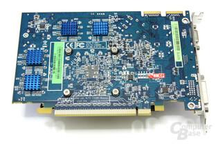 Radeon HD 4670 GDDR4 Rückseite