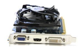 Radeon HD 4670 GDDR4 Slotblech