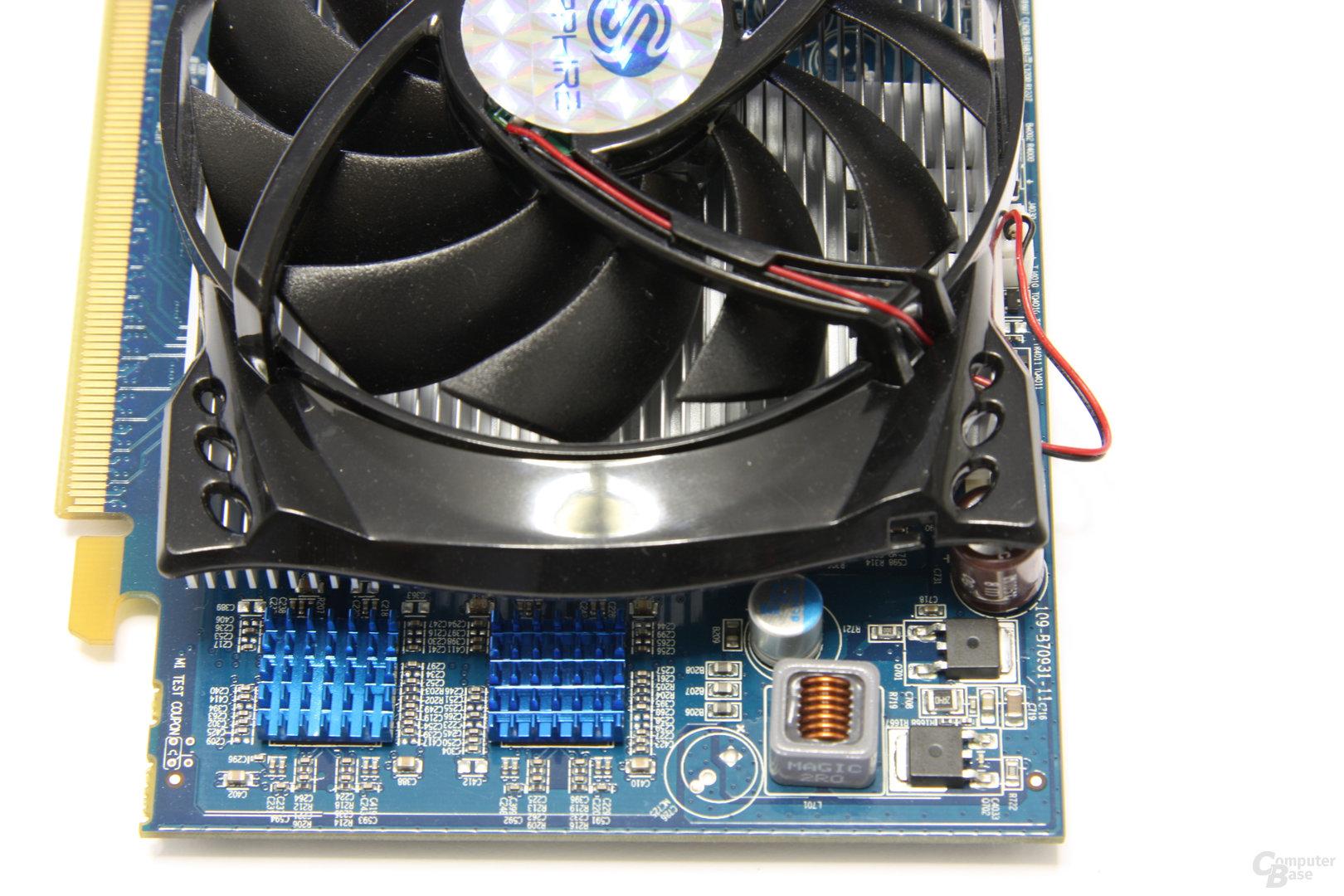 Radeon HD 4670 GDDR4 von oben