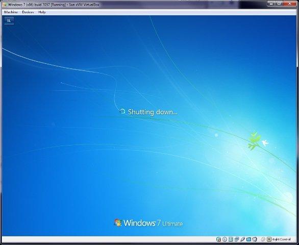 Windows 7 Build 7057