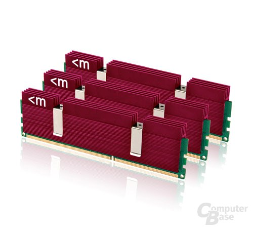 Mushkin DDR3-1600 mit Ascent-Heatspreader