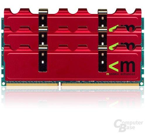 Mushkin DDR3-1600 mit normalem Heatspreader
