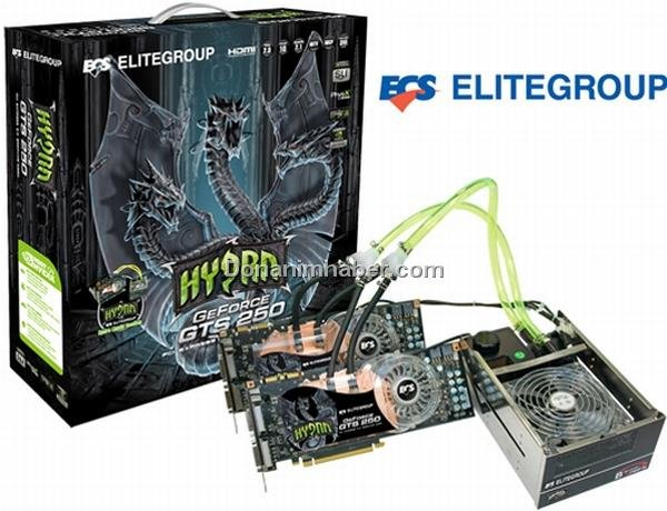 Elitegroup GeForce GTS 250 Hydra SLI