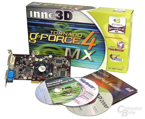 Inno3D Tornado GeForce4 MX440